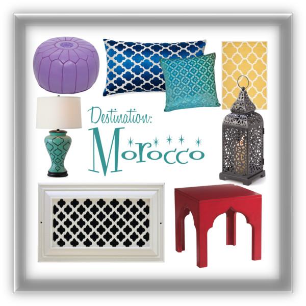 morocco, interior design, quatrefoil, pattern
