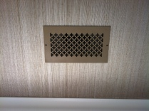 wall air return vent cover