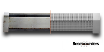 Baseboarders baseboard heater cover