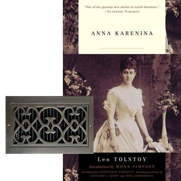 Anna K inspired decor romance decor vent cover grilles