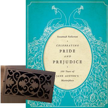 pride and prejudice jane austen decor vent register wall cover