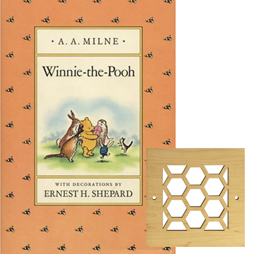 winnie the pooh inspired decor vent cover